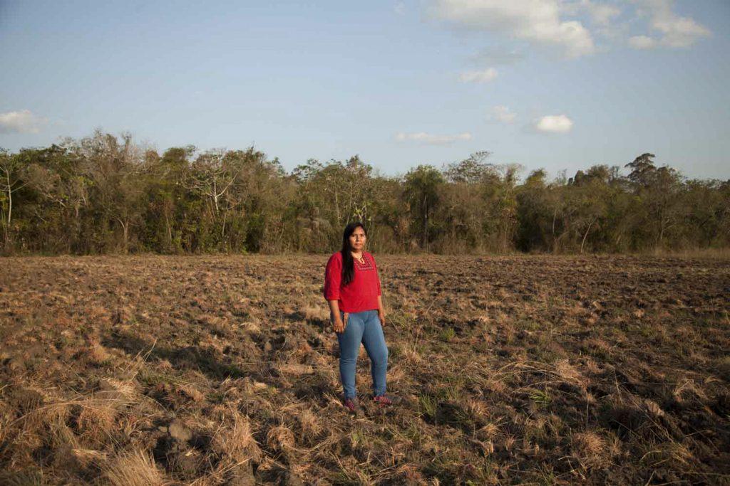 campo com Bernarda
