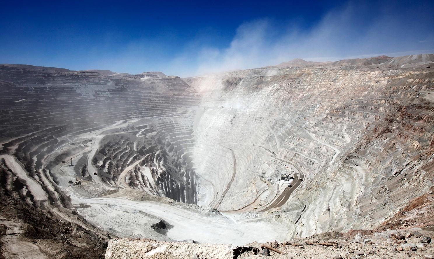 Megaminería. Foto: Codelco/CC BY-NC-ND 2.0